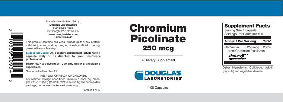 Douglas Laboratories Chromium Picolinate