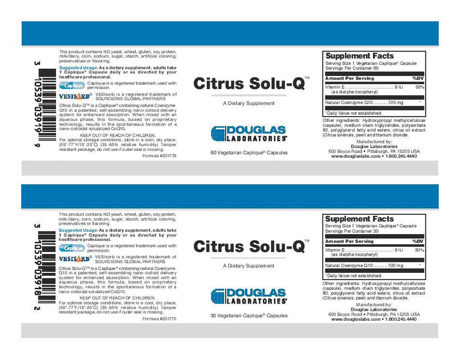 Douglas Laboratories Citrus Solu-Q