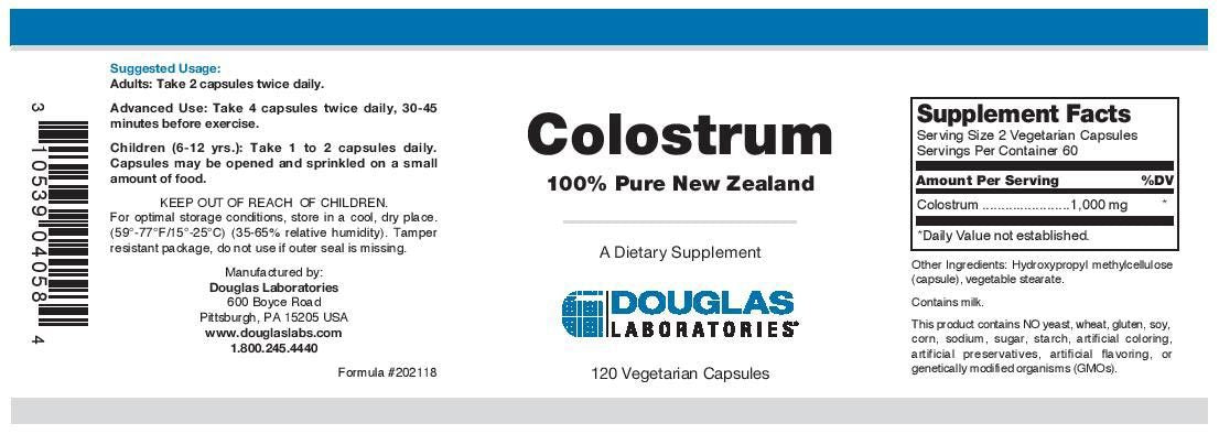 Douglas Laboratories Colostrum Capsules