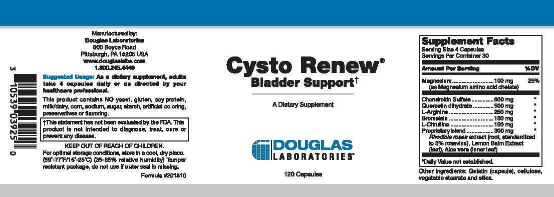 Douglas Laboratories Cysto Renew
