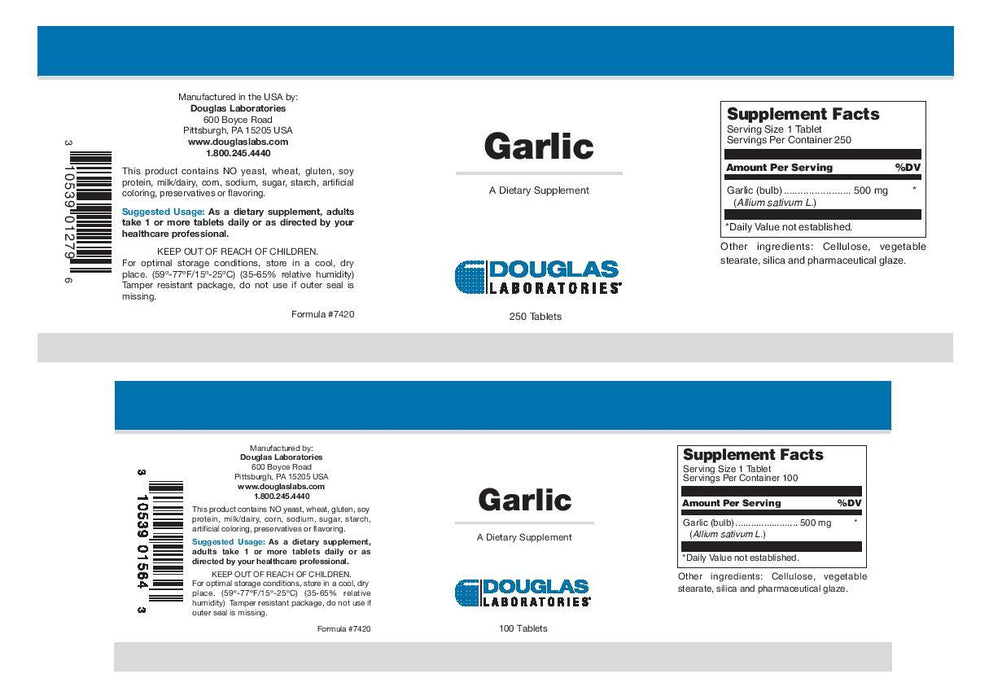Douglas Laboratories Garlic (Odorless)