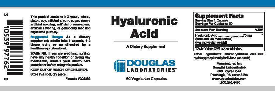 Douglas Laboratories Hyaluronic Acid