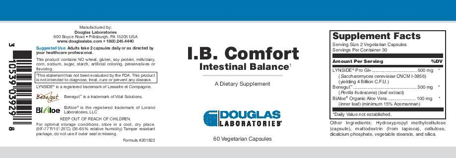 Douglas Laboratories I.B. Comfort