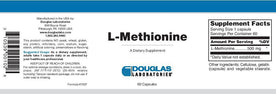 Douglas Laboratories L-Methionine