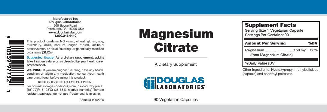 Douglas Laboratories Magnesium Citrate