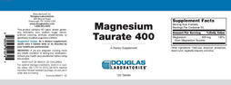 Douglas Laboratories Magnesium Taurate 400