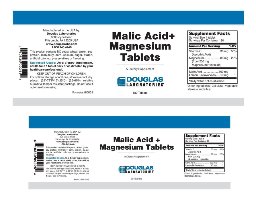 Douglas Laboratories Malic Acid + Magnesium