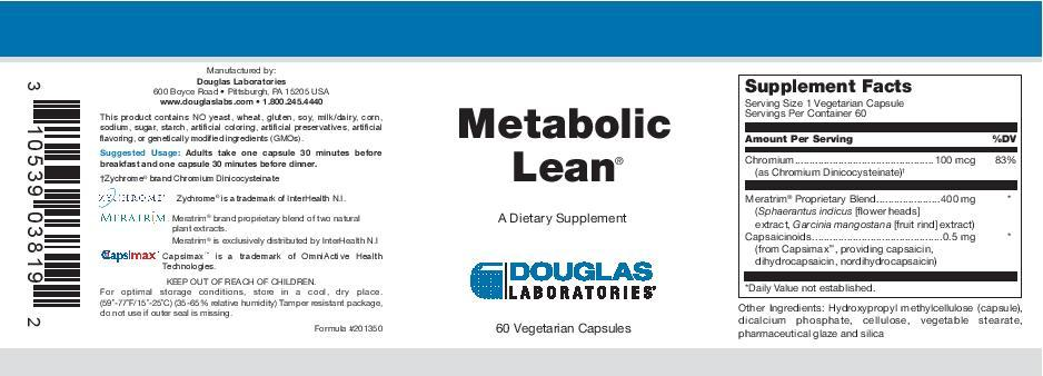 Douglas Laboratories Metabolic Lean