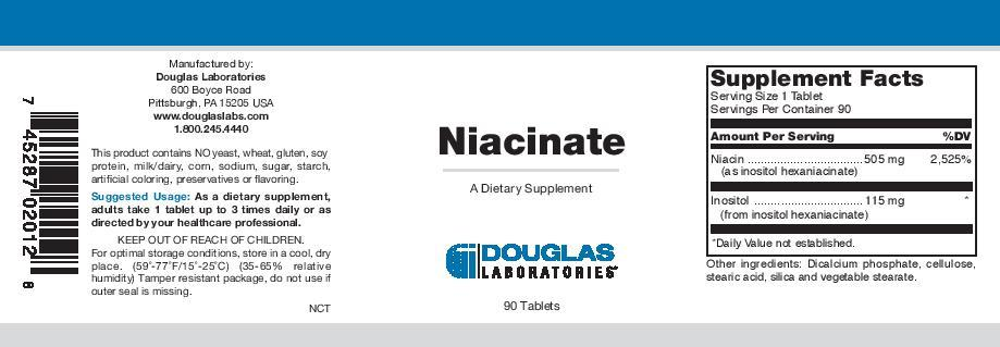 Douglas Laboratories Niacinate