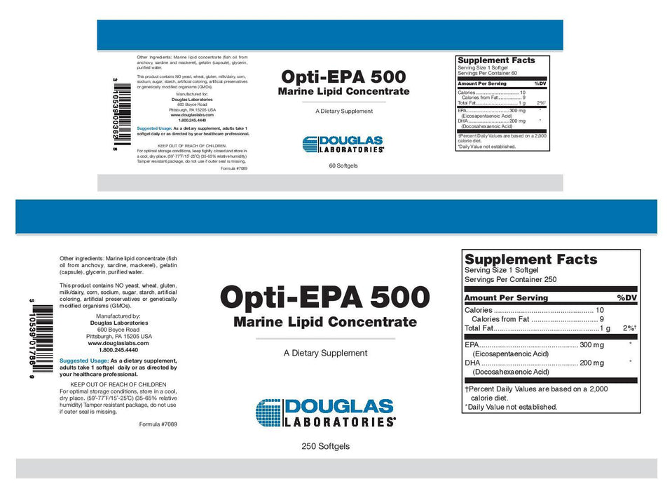 Douglas Laboratories Opti-EPA 500