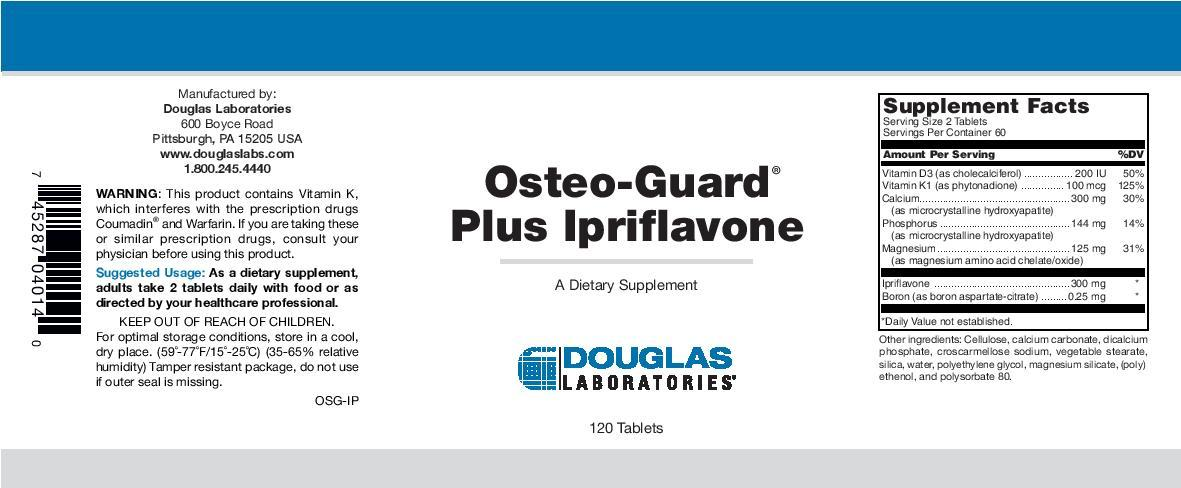 Douglas Laboratories Osteo-Guard Plus Ipriflavone