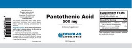 Douglas Laboratories Pantothenic Acid