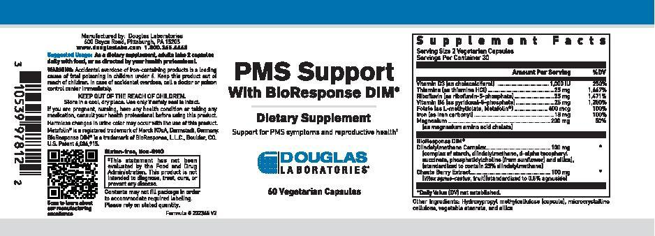 Douglas Laboratories PMS Support