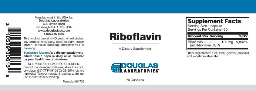 Douglas Laboratories Riboflavin