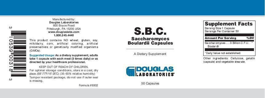 Douglas Laboratories S.B.C.