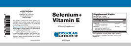 Douglas Laboratories Selenium + Vitamin E