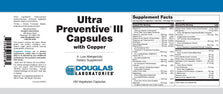 Douglas Laboratories Ultra Preventive III Capsules