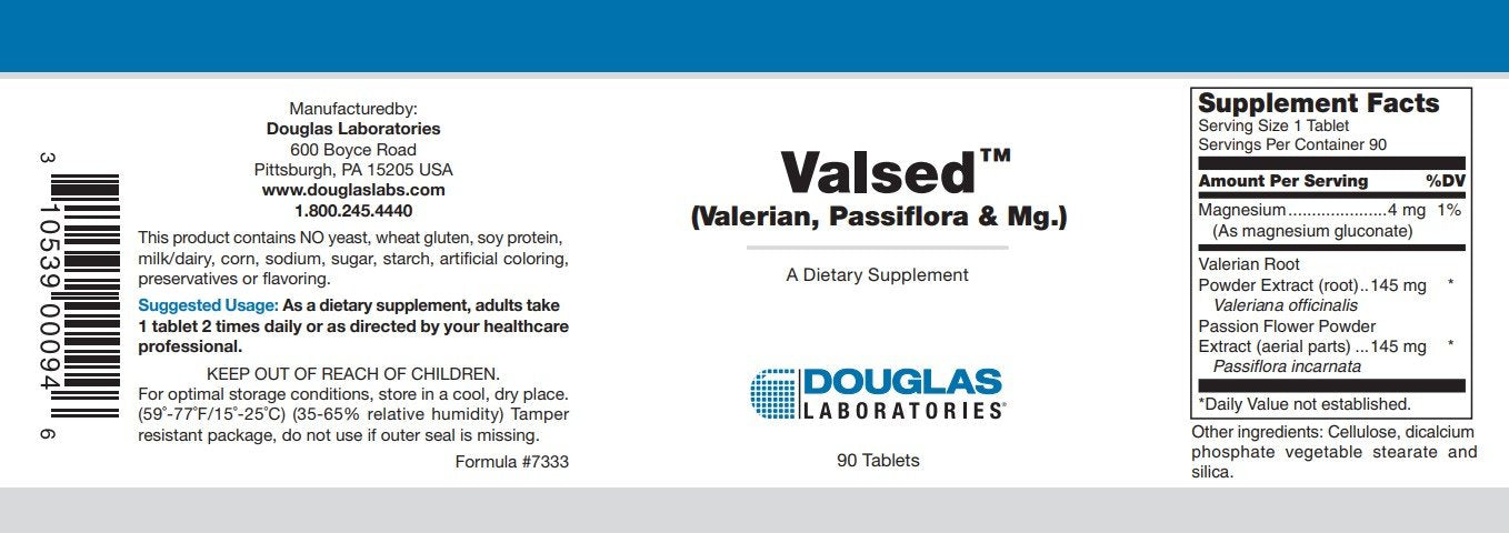 Douglas Laboratories Valsed