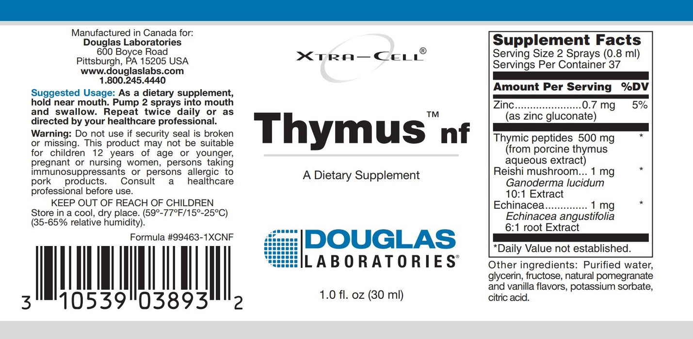 Douglas Laboratories Xtra Cell Thymus NF
