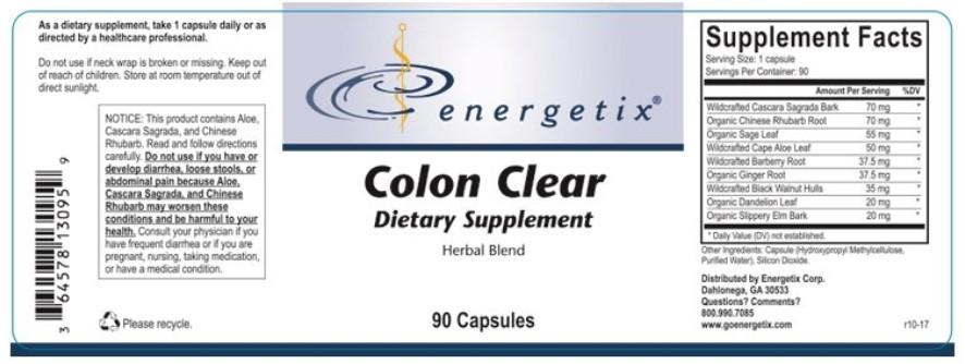 Energetix Colon Clear