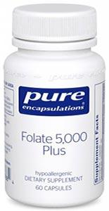 Pure Encapsulations Folate 5000 Plus