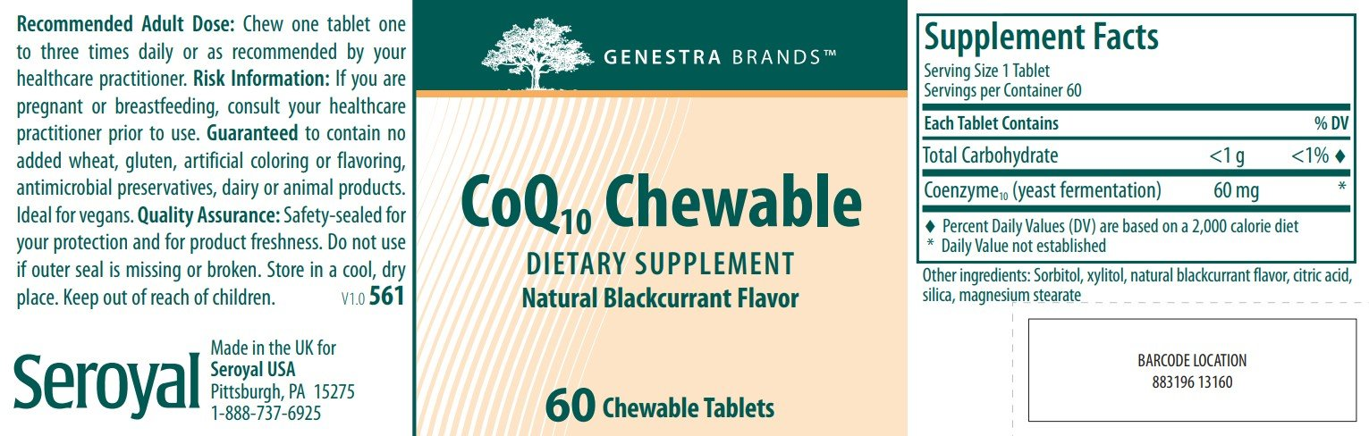Genestra Brands CoQ10 Chewable
