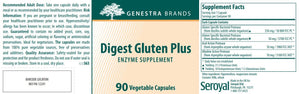 Genestra Brands Digest Gluten Plus