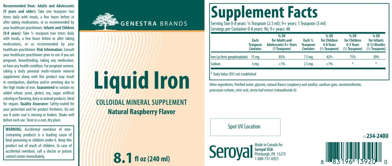Genestra Brands Liquid Iron Complex