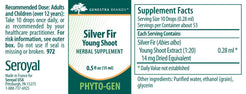 Genestra Brands Silver Fir Young Shoot