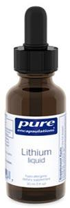 Pure Encapsulations Lithium liquid 30 ml