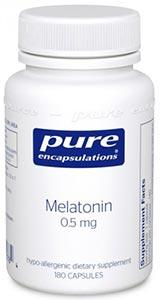 Pure Encapsulations Melatonin 0.5 mg