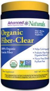 Advanced Naturals Organic Fiber-Clear
