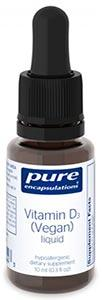 Pure Encapsulations Vitamin D3 (Vegan) liquid