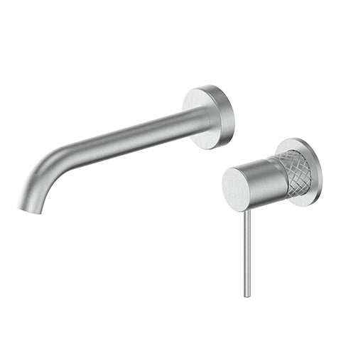 TEXTURA WALL BASIN MIXER - 4 COLOURS