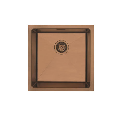 MERCER ELITE PVD SINK INSERT 400X400X200 COPPER