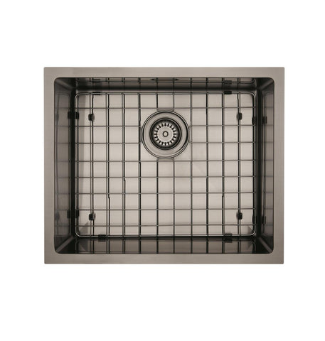 MERCER ELITE PVD SINK INSERT 500X400X200 - GUN METAL