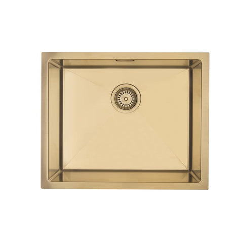 MERCER ELITE PVD SINK INSERT 500X400X200 - BRASS