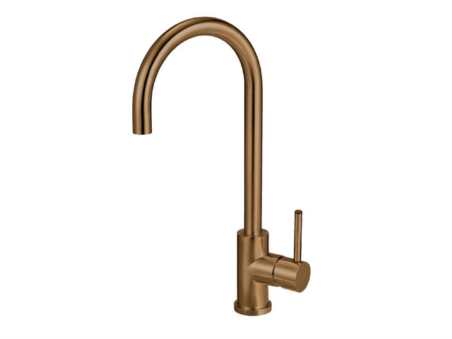 MERCER ELITE PVD GOOSENECK SINK MIXER – COPPER