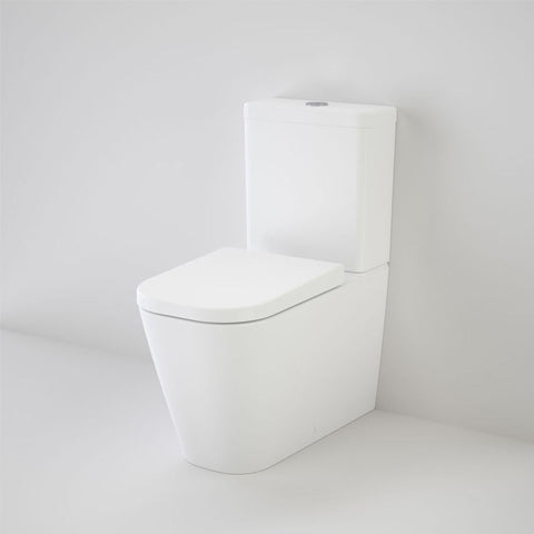 CAROMA LUNA SQUARE CLEANFLUSH BTW TOILET SUITE