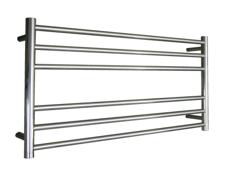 ELITE ROUND HEATED TOWEL LADDER 600X1050MM