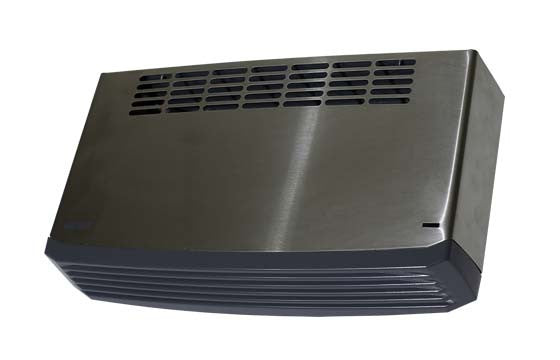 WEISS WALL MOUNTED FAN HEATER BRUSHED STAINLESS STEEL FH30SS