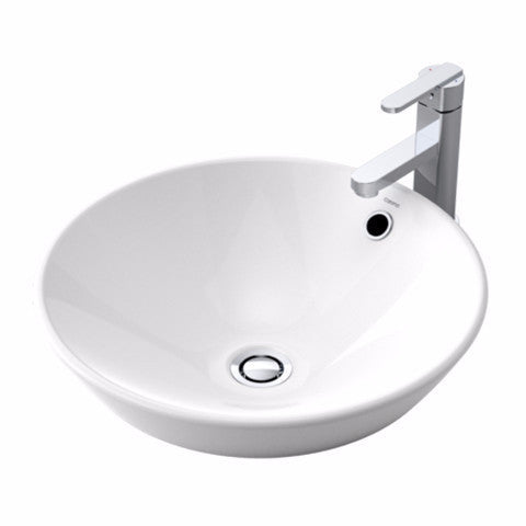 CAROMA LEDA VASQUE INSET BASIN 430X430X75MM