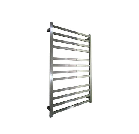ELITE SQUARE HEATED TOWEL LADDER 1200X650MM