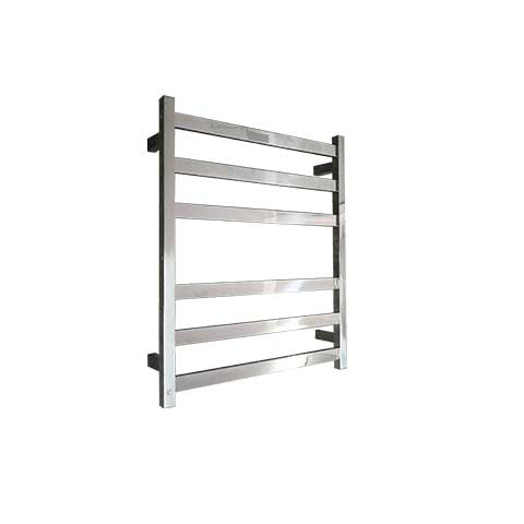 ELITE SQUARE HEATED TOWEL LADDER 600X500MM