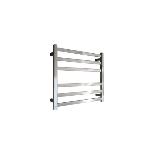 ELITE SQUARE HEATED TOWEL LADDER 600X650MM