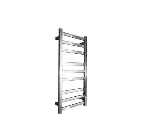 ELITE SQUARE HEATED TOWEL LADDER 900X400MM