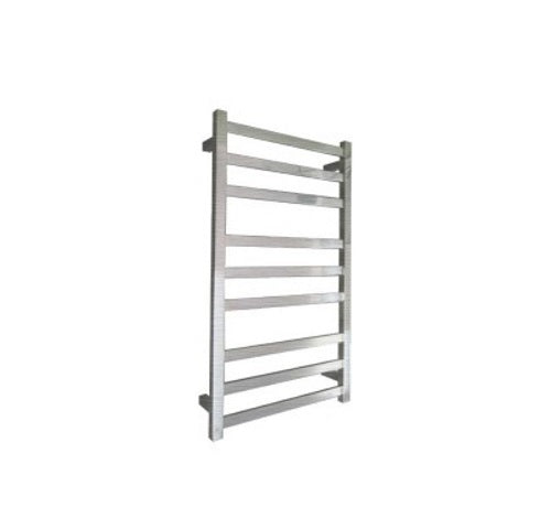 ELITE CUBE HEATED TOWEL LADDER 900X500MM BRUSHED FINISH