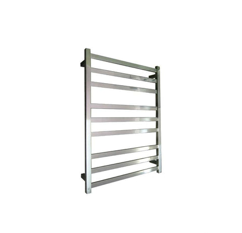 ELITE SQUARE HEATED TOWEL LADDER 900X650MM