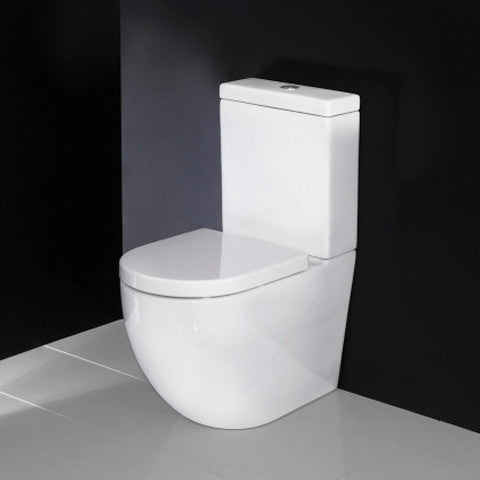 Elite Zen Rimless Btw Toilet Suite Bathrooms Online
