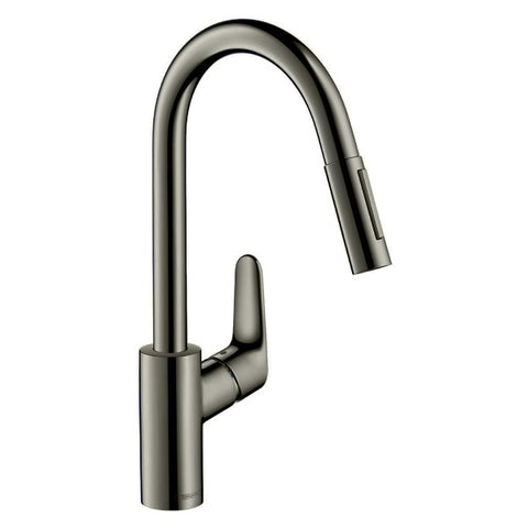 HANSGROHE FOCUS PULLOUT KITCHEN MIXER GUN METAL